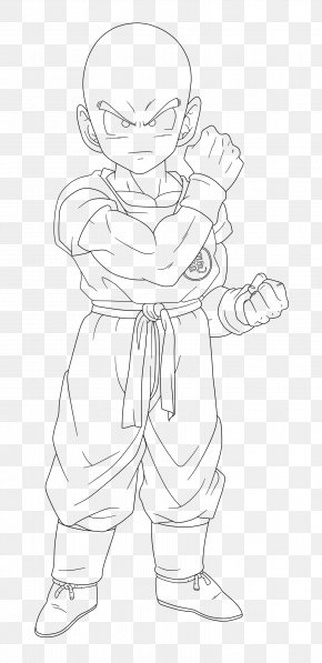 Krillin - Homo Sapiens Line Art Human Behavior Finger Sketch PNG