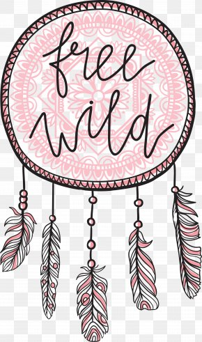 Black Lines Pink Dream Monternet - Lettering Boho-chic Royalty-free Illustration PNG