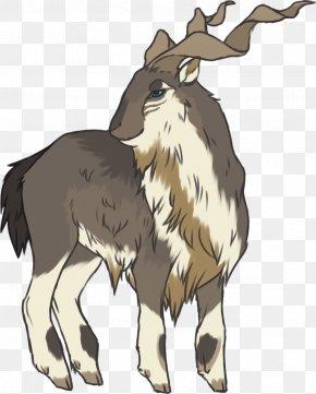 Goat - Cattle Goat Corkscrew Horn Reindeer PNG