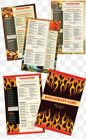 Menu Design - Menu Restaurant Food Alcoholic Drink PNG
