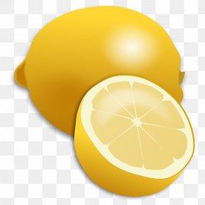 Pictures Of Citrus Fruits - Variegated Pink Lemon Free Content Clip Art PNG
