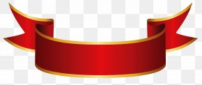 Red Banner Clipart Image - Banner Ribbon Paper Clip Art PNG