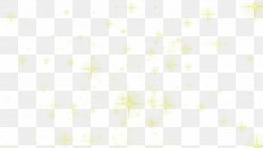 Yellow Light Cross Star Effect - Textile White Pattern PNG