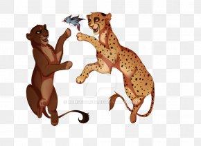Lion - Lion Cheetah Cat Art PNG