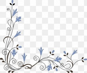 Flower Corner Cliparts - Pink Flowers Stock.xchng Clip Art PNG