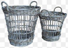 Wooden Basket - Basket Rattan Wicker Furniture PNG