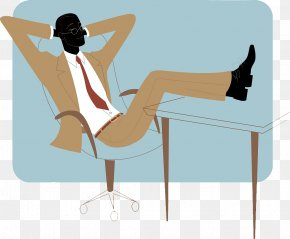 Flat Wind, Relax After Work - Illustration PNG