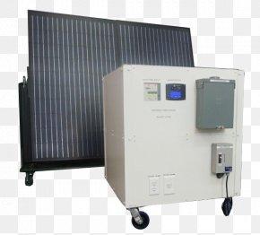 Solar Panel - Solar Power Electric Generator Energy Engine-generator PNG