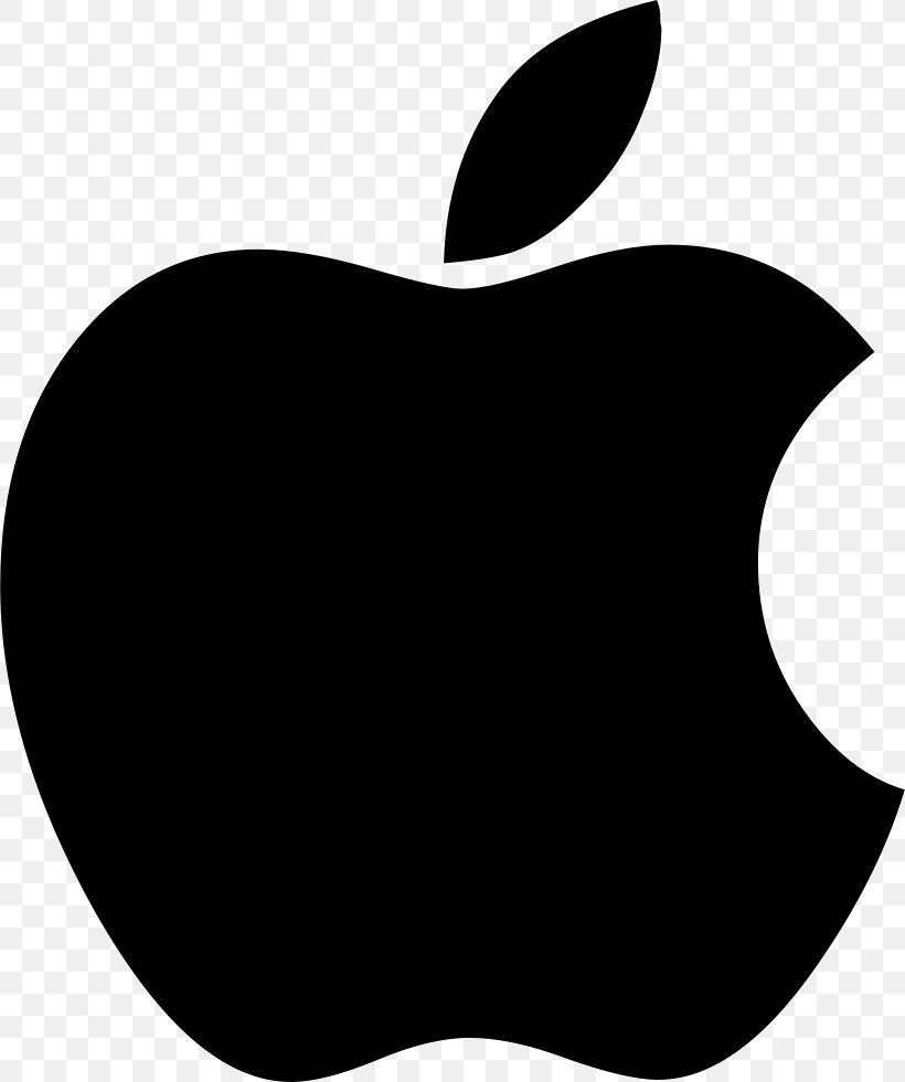 Apple Logo, PNG, 820x980px, Apple, Black, Black And White, Iphone, Logo Download Free