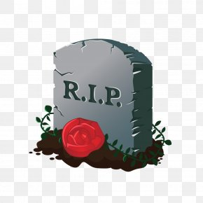 Halloween Horror Cemetery Roses Vector Material - Cemetery Halloween PNG