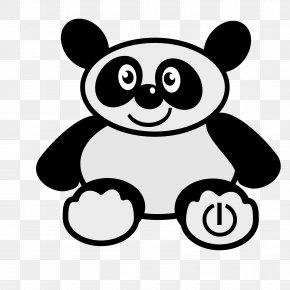 Panda - Giant Panda Bear Cuteness Animal Clip Art PNG
