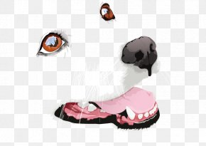 Vector Dog Face - Great Pyrenees Download Clip Art PNG