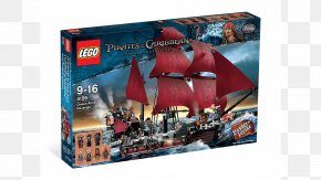 Pirates Of The Caribbean - LEGO 4195 Queen Anne's Revenge Lego Pirates Of The Caribbean: The Video Game PNG