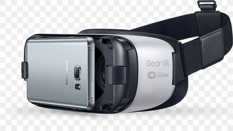 Samsung Gear VR Virtual Reality Headset Oculus Rift Samsung Galaxy, PNG, 867x487px, Samsung Gear Vr, Audio, Camera Accessory, Electronic Device, Electronics Download Free