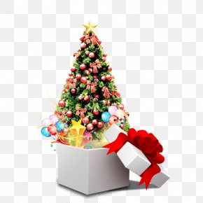 Creative Christmas Tree - Christmas Card Happiness New Year Feliz Navidad PNG