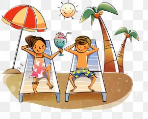 Summer Holiday Clip Art - Clip Art Openclipart Image Drawing Illustration PNG
