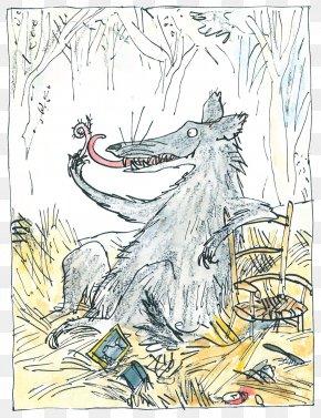 Three Little Pigs Wolf - Reader Ship Literacy School The Three Little Pigs Mammal Cartoon PNG