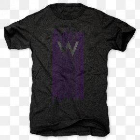 T-shirt - T-shirt Black M PNG