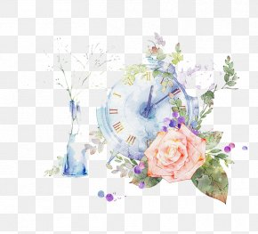 Watercolor Flowers - Watercolor Painting PNG