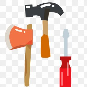 Cartoon Ax - Woodworking Tool Hammer PNG