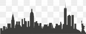 New York City - New York City Skyline Clip Art PNG