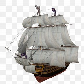 Ship HD - Sailing Ship Clip Art PNG