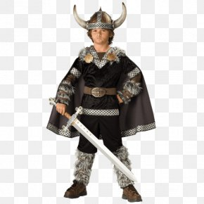 Child - Halloween Costume Child Boy Viking PNG