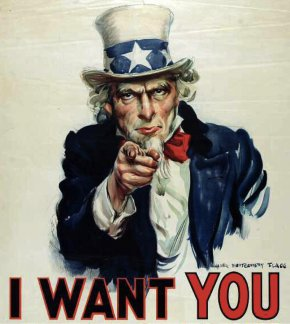Poster - James Montgomery Flagg United States Uncle Sam Garden State YouTube PNG