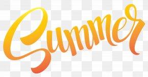Sumer Text Image - Summer Clip Art PNG