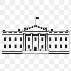 Trump Cartoon - White House United States Capitol Royalty-free Clip Art PNG