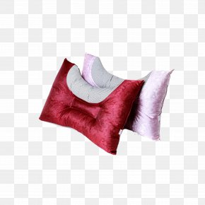 Festive Satin U-shaped Neck Pillow Combination - Pillow Neck Cervical Vertebrae Atlas PNG