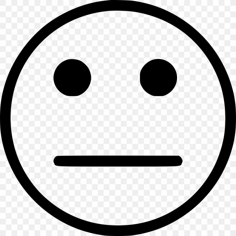 Smiley Emoticon, PNG, 980x980px, Smiley, Black And White, Emoticon, Face, Facial Expression Download Free