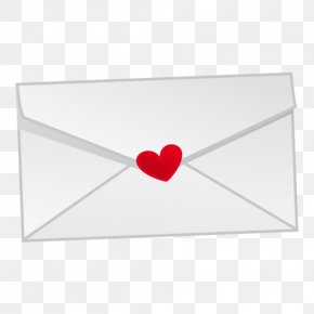 Envelope - Paper Red Love Font PNG