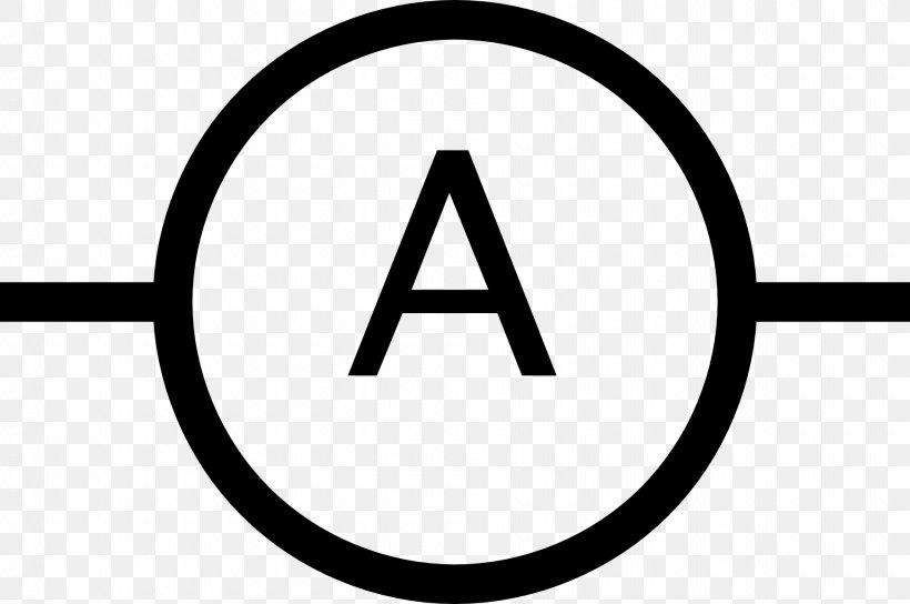 electronic symbol ammeter ampere clip art  png