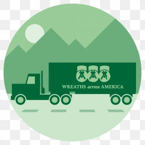 Across America - Gladewater Truck Driver Logo Service Transport PNG