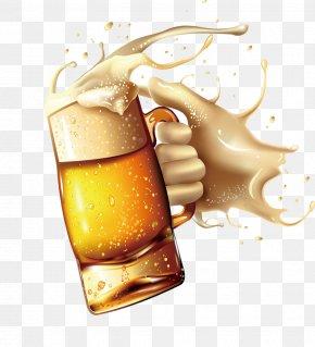 Beautiful Cute Cartoon Beer Glass Hand - Beer Glasses Oktoberfest PNG