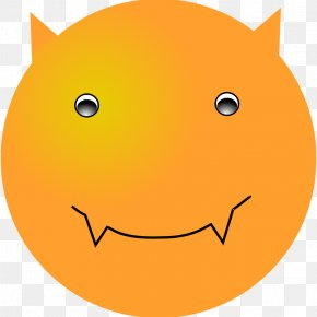 Devil Smiley - Smiley Emoticon Clip Art PNG