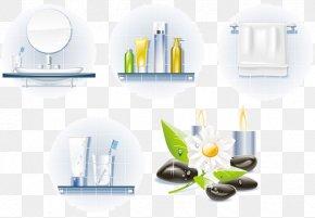 Bath Bath Supplies Series - Spa Clip Art PNG