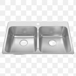 Sink - Sink American Standard Brands Stainless Steel Kitchen Bowl PNG