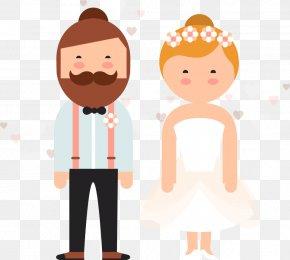 Vector Illustration Wedding - Wedding Illustration PNG