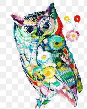Owl - Artist Painting Drawing Fine Art PNG