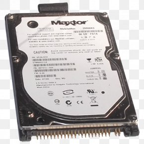 Mobile Hard Disk - Hard Drives Data Storage Laptop Maxtor Parallel ATA PNG