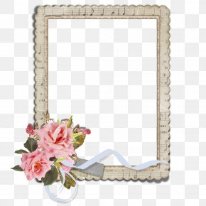 Hand-painted Floral Border Creative Floral Label - Oil Painting Reproduction Picture Frame Blog Polyvore PNG