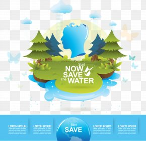 Vector Table - Water Efficiency Stock Photography Illustration PNG