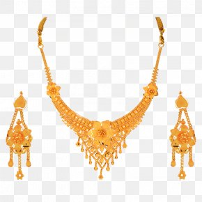 Orra Jewellery - Earring Jewellery Necklace Jewelry Design Gold PNG
