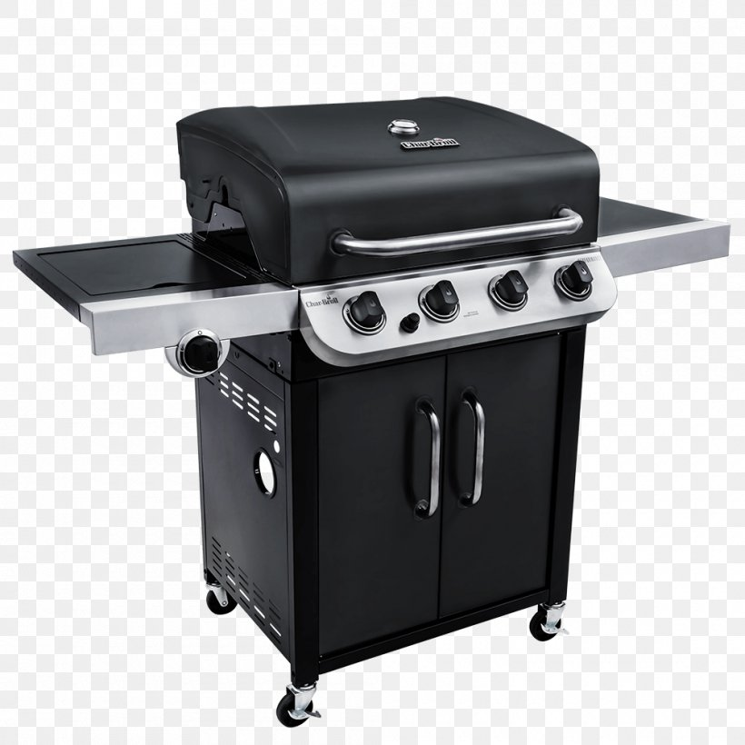 Barbecue Char-Broil Performance Series 463377017 Char-Broil Performance 4 Burner Gas Grill Grilling, PNG, 1000x1000px, Barbecue, Boiling, Charbroil, Cooking, Gas Download Free