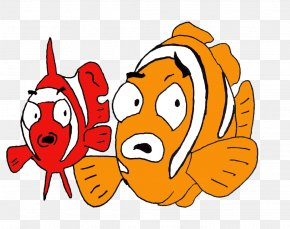 Clown Fish - Cartoon Pelagic Fish Clip Art PNG