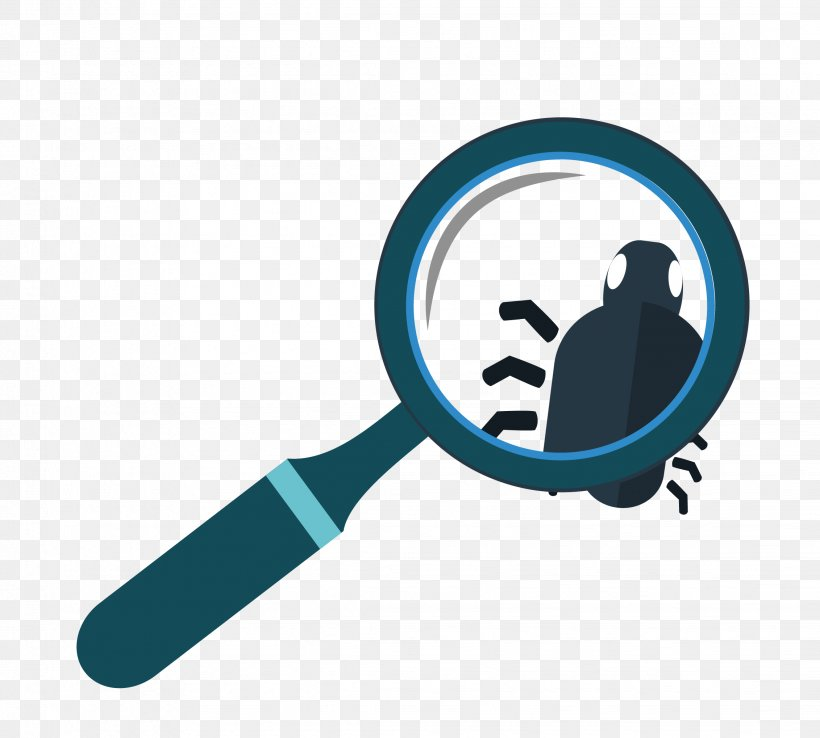 Insect Magnifying Glass Euclidean Vector, PNG, 2263x2038px, Insect, Communication, Glass, Logo, Magnifying Glass Download Free