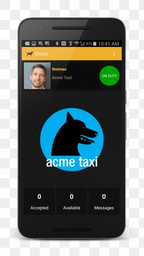 Taxi Driving - Smartphone Feature Phone Product Design Multimedia PNG