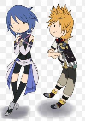 Aqua Kingdom Hearts - Kingdom Hearts Birth By Sleep Ventus Roxas Aqua Naminé PNG